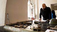 This Serbian Artist Is Transforming Weapons Of War Into Musical Instruments.