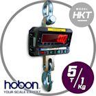 hobon 電子秤 HKT 工業型電子吊秤 5T 附遙控器