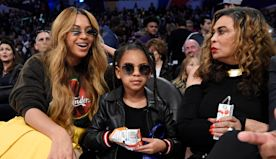 Beyoncé's Mom Tina Gushes Over How 'Darn Tall' Blue Ivy Carter, 8, Has Gotten: 'Legs For Days' — See Pic