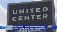 Fans Return To United Center Tonight For Bulls-Celtics Game