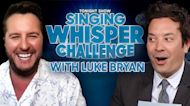 Singing Whisper Challenge with Luke Bryan