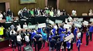 Fighting in Taiwan parliament over disputed nomination