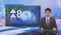 天文台:本港風力有所減弱 考慮四至七時改發三號信號