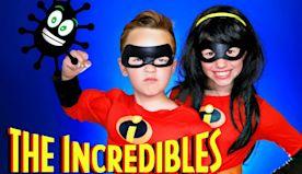 Disney Pixar Incredibles Violet and Dash Coronavirus Safety, Staying Healthy, and Having Fun at Home