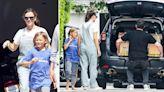 One Big Happy Family! Ben Affleck Celebrates Father's Day With Ex Jennifer Garner, Son Samuel