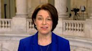 Klobuchar reacts to new video of Capitol riot shown at Trump's impeachment hearings