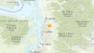 Earthquake rattles Seattle area, followed by series of aftershocks