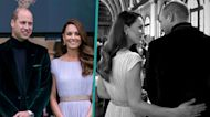 Kate Middleton & Prince William Have Affectionate Moment Behind The Scenes At Earthshot Prize Awards
