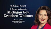 A Conversation with Michigan Gov. Gretchen Whitmer