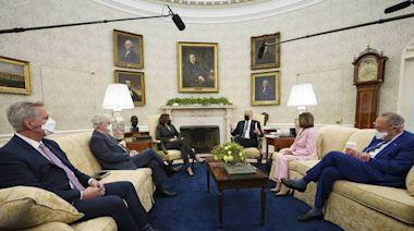 拜登白宮會兩院領袖談基建計劃 共和黨大佬:增稅是「紅線」 - 自由財經
