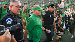 What Notre Dame HC Brian Kelly said about Wisconsin before Saturday's game
