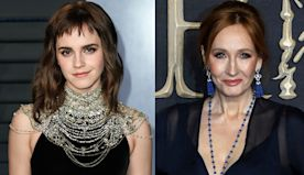 Emma Watson Shares Rare Pic Of Her & J.K. Rowling For Author's Birthday, 20 Years After They 1st Met