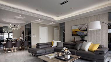 毛胚屋改造!大客廳、完整私領域並加入儲藏室,揉合現代與新古典家居凝聚一家人情感