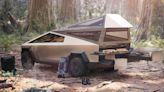Così il pick-up Tesla si trasforma in camper