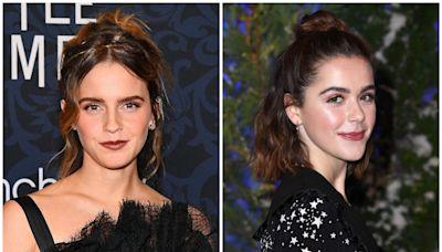 Kiernan Shipka Responded Perfectly to a Fan Who Mistook Her for Emma Watson