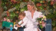 The Talk - Amanda Kloots' Son Elvis Makes TV Debut for Mother's Day on 'The Talk'