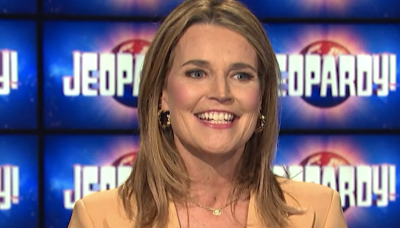 'Jeopardy!' Fans Can't Stop Talking About Savannah Guthrie's First Episode as Guest Host