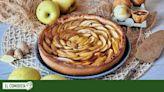 Crostata de manzana y jengibre
