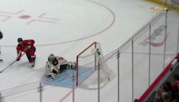 a Goalie Save from Washington Capitals vs. Boston Bruins