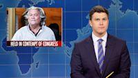 Weekend Update: Steve Bannon Held in Contempt & Trump Social Media