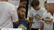 Rudy Gobert's basketball camp teaches basketball and life skills