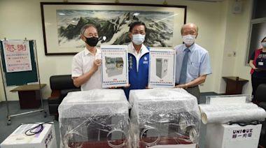 廣隆、聯一捐贈投縣醫院殺菌插管空氣清淨機組