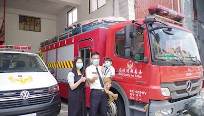 救一人如救一個家! 嘉縣消防楷模高健豪再獲頒模範公務員