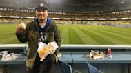LA Dodgers player hits home run, surprises fan with nachos