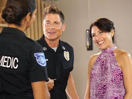 Rob Lowe on his 'sexually charged' West Wing reunion with Lisa Edelstein on 9-1-1: Lone Star season 2
