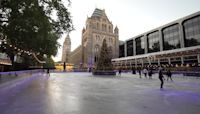 London's Natural History Museum ice rink returns