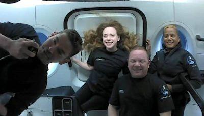 SpaceX全平民太空旅行 廁所警報秘辛曝光