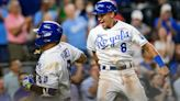 Homers from Perez, Dozier and Isbel help Kansas City Royals overcome six-run deficit