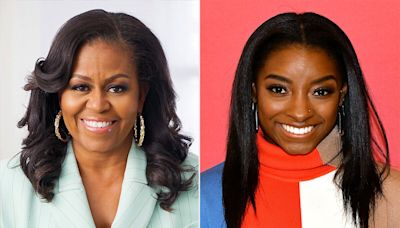 Michelle Obama Offers Message of Support to Simone Biles, U.S. Gymnasts: 'The Mantra I Practice Daily'