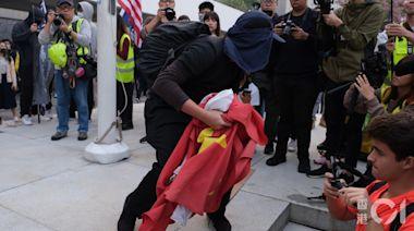 男子欲助示威者逃走撲向警員 認暴動及襲警等罪 判囚28月