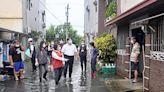 黃敏惠視察短時強降雨 全市積水快速退去