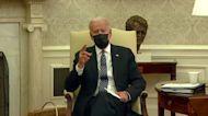 Biden says vaccine plan on track despite J&J pause