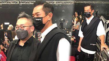 MIRROR演唱會丨古天樂坐第一排靚位睇騷 合照來者不拒 | 蘋果日報