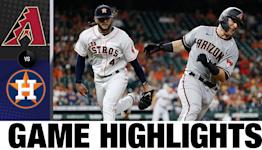 D-backs vs. Astros Highlights