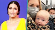 Mandy Moore Praises Baby Gus After 'Hellish' First Air Travel Experience: 'The Definition Of A Trooper'