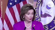 Pelosi addresses calling McCarthy a 'moron' over House mask mandate criticism