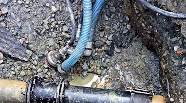 大旱還破管漏水 民眾憤慨!水公司:緊急修復提早復水 | 蘋果新聞網 | 蘋果日報