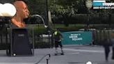 Manhattan Man Arrested in Latest George Floyd Statue Vandalism