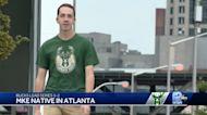 Pewaukee native cheers on Bucks in Atlanta