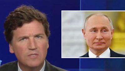 Tucker Carlson said Putin was asking 'fair questions' about Ashli Babbitt's killing at the Capitol riot
