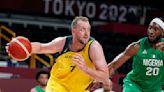 Joe Ingles scores 11 as Australia beats Utah Jazz wing Miye Oni and Nigeria to open Olympic play