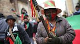 Thousands, including indigenous people, march in peaceful Colombia protests