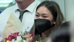 Olympic all-around champion Sunisa Lee returns home