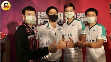 台灣羽球世界坐三望二搶第一 羽協設宴慶功迎男女好手
