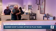 Longtime Nashville barbershop closes after more than 50 years
