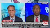 CNN's Jake Tapper Grills Ben Carson on Trump Tweeting Attacks on George Floyd